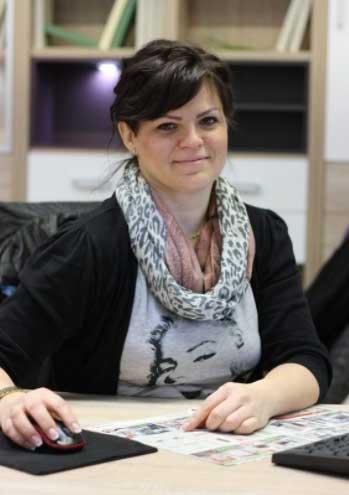 Ing, Anna Bellanová Chovanová, vedúca kuchynského štúdia