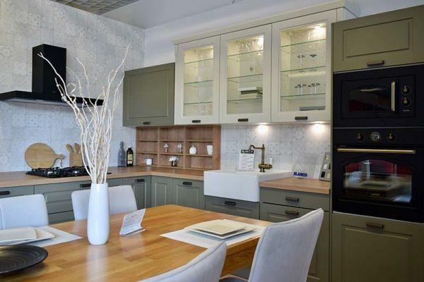 Pohľad na kuchyňu v štúdiu
