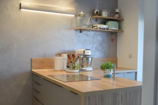 Pracovná časť kuchyne